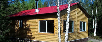 Deluxe cabins package